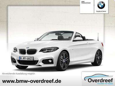gebraucht BMW 225 d Cabrio M Sport SAG Navi Prof RFK DAB HiFi