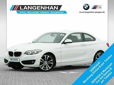 gebraucht BMW 225 d Coupé Sport Line