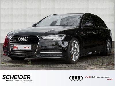 gebraucht Audi A6 Avant 3.0 TDI qu 3 x S line HuD Navi LED Klima