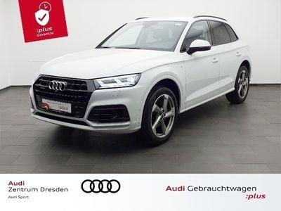 gebraucht Audi Q5 Design 40 TDI quattro S line/Standhz.