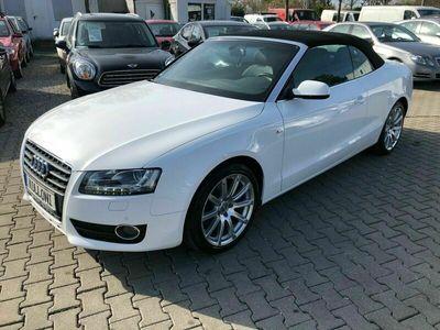 gebraucht Audi A5 Cabriolet TDI S-LINE VOLL AUSSTATTUNG 1 HAND als Cabrio/Roadster in München