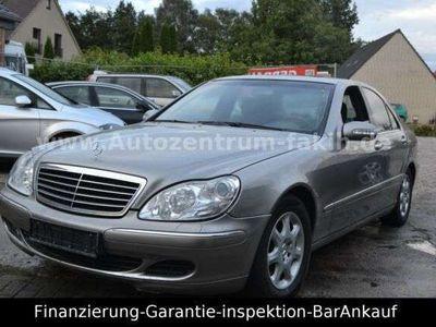 """gebraucht Mercedes S320 S 320 S -Klasse Lim.CDI""""Alufelgen""""Facelift""""...."""