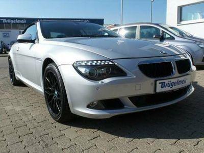 gebraucht BMW 635 Cabriolet d 19ZOLL+LEDER+NAVI+DISTRONIC