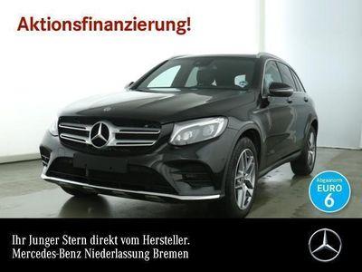 gebraucht Mercedes GLC220 d 4M AMG Pano ILS LED AHK Navi Totwinkel