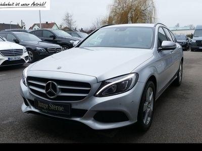 gebraucht Mercedes C220 d T 9G LED Navi EasyPack Tempomat SHZ AHK