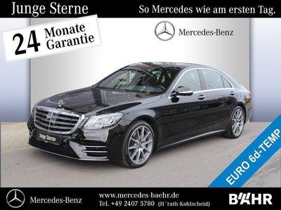 gebraucht Mercedes S400 d 4MLimousine lang AMG Line/COMAND APS Pano.-Dach