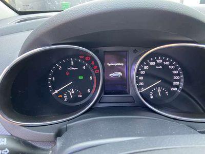 gebraucht Hyundai Santa Fe blue 2.2 CRDI 4WD Automatik Premium