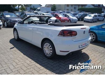 gebraucht VW Golf Cabriolet VI 1,6 TDI PDCClimatronic