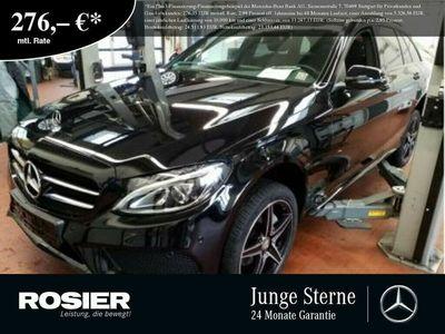 gebraucht Mercedes C200 T 4M AMG Line Night Navi LED Kamera SHZ PT