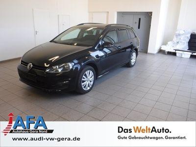 gebraucht VW Golf VII Variant 2,0 TDI Comfortline DSG Standhzg,Navi,SHZ