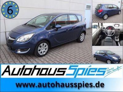 gebraucht Opel Meriva 1.6 CDTI ecoFLEX Edition EURO6 NAVI R-KAMERA