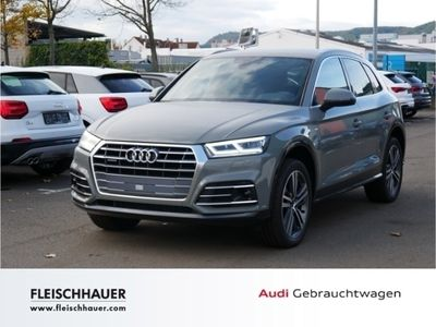 gebraucht Audi Q5 40 TDI quattro S line UPE 69.975,- €, Navi, Paket Tour & Stadt, DAB, AHK
