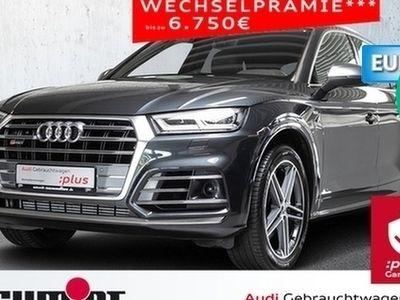 usado Audi SQ5 3.0 TFSI quattro AHK, Ass. Tour u. Stadt, e Heckkl., Navi+, DAB Navi AHK GRA