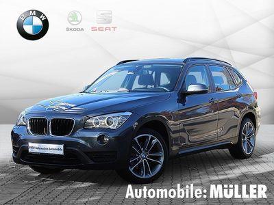 gebraucht BMW X1 -xDrive18d Sport Line Xenon Navi Tempomat USB