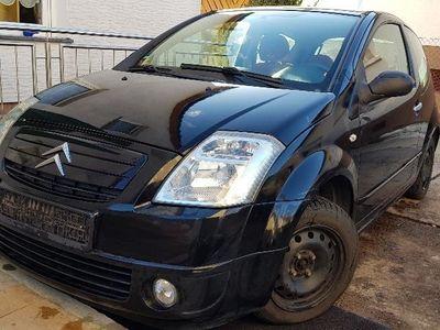 gebraucht Citroën C2 mit Sommer- u. Winterreifen.