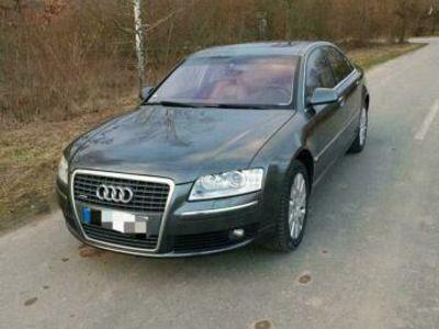 gebraucht Audi A8 4,2 TDI DPF quattro Navi AHK TÜV 0...