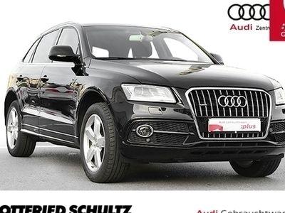 gebraucht Audi Q5 quatt. Tiptronic 2xS-Line XEN NAV PANO PDC VO+H S line - Klima,Schiebedach,Xenon,Sitzheizung,Alu,Servo,