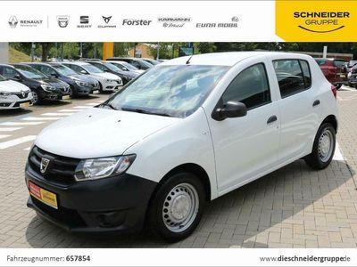 gebraucht Dacia Sandero 1,2 16V 75 Essential CD Tagfahrlicht