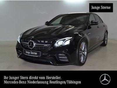 gebraucht Mercedes E63 AMG S 4M Keramik Driversp Perf-Abgas Fahrass