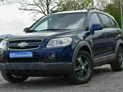 gebraucht Chevrolet Captiva 2.4 4WD / LPG-Gasanlage/ 7-Sitzer/ Navi