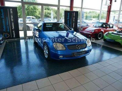gebraucht Mercedes SLK200 Kompressor-LEDER-Bi COLOR-KLiMA-TEMPOMAT als Cabrio/Roadster in Aspach