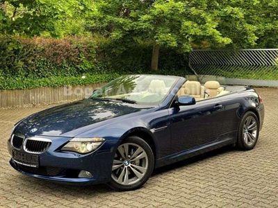 gebraucht BMW 635 Cabriolet d  Leder Navi Professional ACC HeadUp 