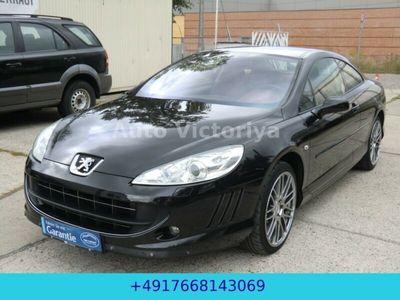 gebraucht Peugeot 407 Coupe Platinum**19 Zoll**Leder**Voll