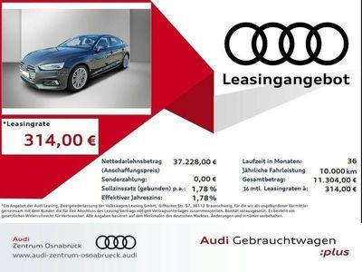 gebraucht Audi A5 Sportback 40 TDI s tronic sport ACC Assistenzpa