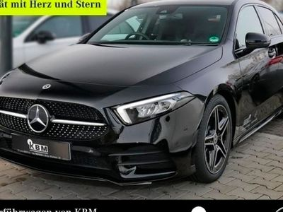 "gebraucht Mercedes A180 AMG NIGHT NAV MBUX LED-HPS PTS+RFK SHZ 18"" AMG Lin"