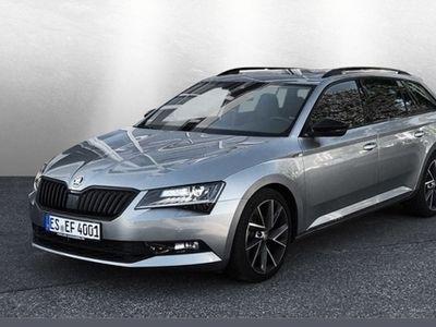 gebraucht Skoda Superb Combi 2.0 TDI 4x4 DSG SportLine 140 kW, 5-türig (