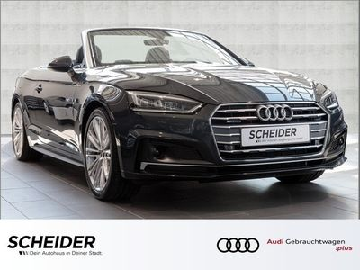 gebraucht Audi A5 Cabriolet 40 TDI qu 3 x S line Matrix Navi LM19 DAB