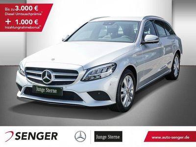 used Mercedes C200 T AVANTGARDE+COMAND+AUTOMATIK+360°KAMERA