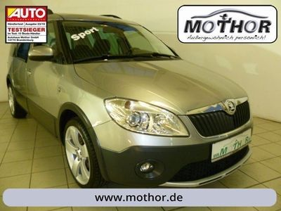 gebraucht Skoda Roomster Scout Plus Edition 1.2 TSI Einparkhilfe