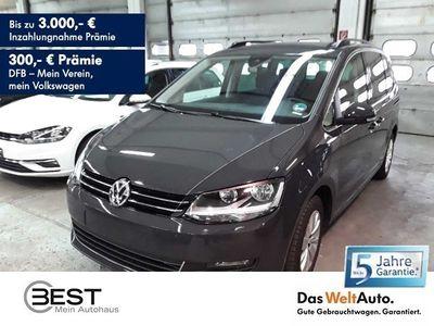 gebraucht VW Sharan 1.4 TSI DSG Comfortline 7-Sitzer, Navi, PDC, Shz,