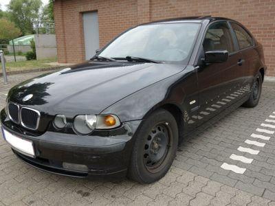 gebraucht BMW 316 Compact Baureihe 3 316ti Sportsitze Teilleder.