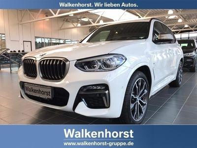 gebraucht BMW X3 M40 i EU6d-T Park-Assistent Leder LED Navi Keyless Kurvenlicht e-Sitze HUD ACC Parklenkass.
