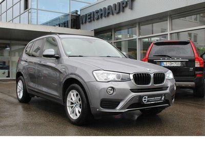 gebraucht BMW X3 xDrive 20d*ATM 26000*AHK*Navi*Bluetooth*Xenon