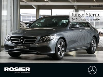 gebraucht Mercedes E220 Avantgarde LED Navi 360° Totw. DAB+ SHZ