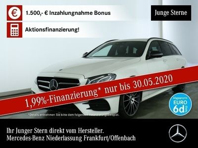 "gebraucht Mercedes E220 T 4M AMG Night 20"" Wide Fahrass 360° DAB"