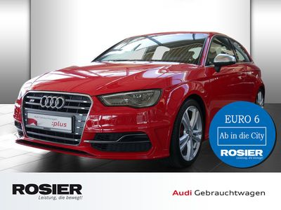 gebraucht Audi S3 2.0 TFSI quattro LED Navi Sounds. Leder Spurw