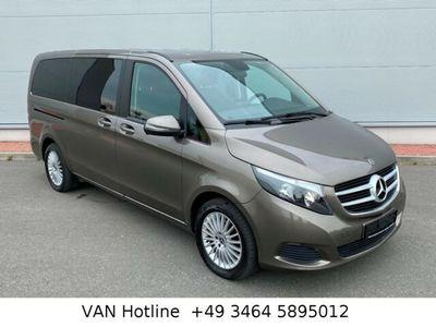 gebraucht Mercedes V220 D lang Navi 2x Tür 7 Sitzer Tempomat