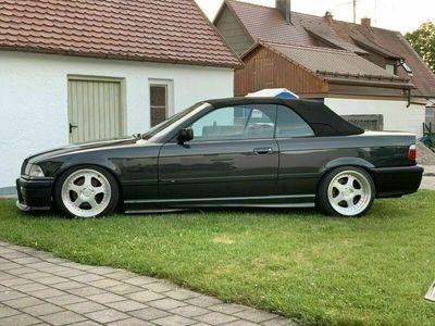 gebraucht BMW 325 Cabriolet e36 i ANGEBOT NUR NOCH BIS 1... als Cabrio/Roadster in Schwabmünchen