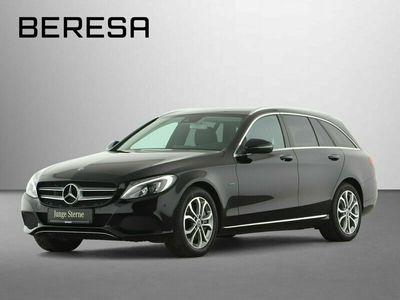 gebraucht Mercedes C350e T Avantgarde Spur-P. LED Kamera Navi