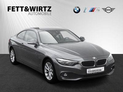 gebraucht BMW 420 d Coupe Advantage Aut. Navi PDC SHZ HiFi