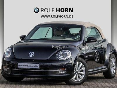 gebraucht VW Beetle 1.6 TDI Design Cabriolet Xenon PDC Kurven