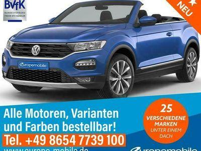 gebraucht VW T-Roc Cabriolet R-Line LED NAV (D4) 1.5 TSI 150 7-Gang DSG