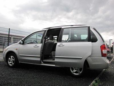 gebraucht Mazda MPV 2.0 Exclusive viele Neuteile 7-Sitze HU NEU