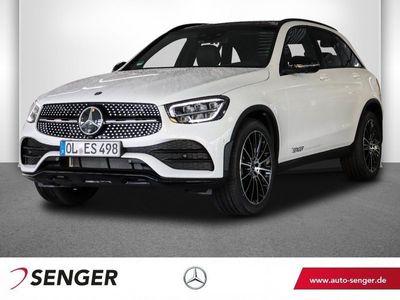 gebraucht Mercedes GLC300 d 4M AMG Line Night Panorama Burmester