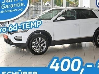 gebraucht VW T-Roc Style 1.6TDI SCR Navi°Kamera°ACC°Lane°Side°Totwinkl
