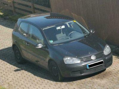 gebraucht VW Golf V schwarz